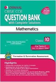 cbse cce mathematics question bank with complete solutions term
