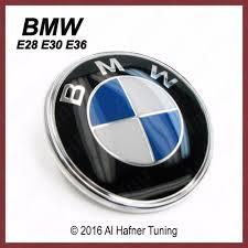 bmw e28 e30 e36 genuine trunk emblem 51 14 1 872 969 ebay