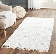 Area Rugs White Rug Rar121g Rag Rug Area Rugs By Safavieh