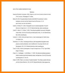 Resume Reference List Format Reference Page Template Reference List Template Word Excel