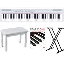 Yamaha Piano Bench Adjustable White Digital Piano Yamaha P115 W Knox White Piano Bench Stand