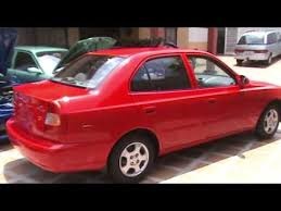hyundai accent 2001 for sale hyundai accent 2001 5ta rojo financio