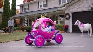 frozen power wheels sleigh 24v disney princess carriage walmart advertisement youtube