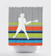 Grey Green Shower Curtain Navy And Green Shower Curtain Home Design Plan