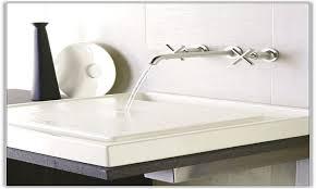 Kohler Wall Mount Kitchen Faucet Kohler Purist Faucet Toto Promenade Pedestal Sink With The Kohler