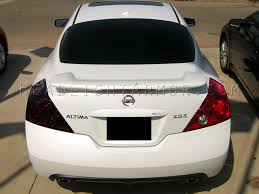 nissan altima tail light cover 08 13 nissan altima coupe smoked taillight film kit