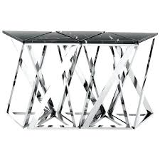 metal glass sofa table buffet table small stainless steel table