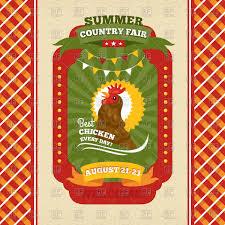 Mcdonalds Invitation Card Country Fair Clipart 2000386