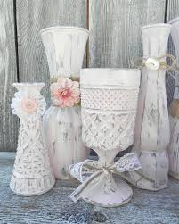 shabby chic burlap crafts burlap and lace pink shabby chic vase