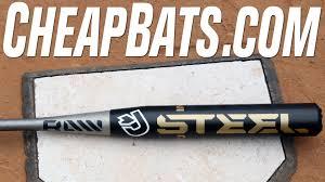 demarini steel softball bat cheapbats 2016 demarini steel slowpitch softball bat