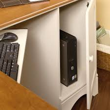 Sauder Edge Water Computer Armoire by Sauder Antique White Computer Desk Best Home Furniture Decoration