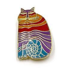 laurel burch jewelry laurel burch rainbow cat pin
