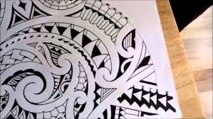 maori shoulder extending a polynesian shoulder sleeve tattoo youtube