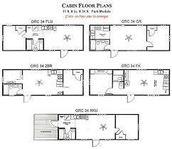 log cabin layouts park cabin floor plans homes zone