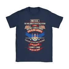 i say merry god bless america air veteran shirts
