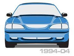 1994 mustang gt headlights mustang headlights lmr com