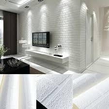logiciel chambre 3d 3d chambre papier peint 3d brique blanc non adhacsif daccoration