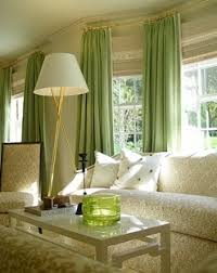Green Color Curtains Home Decoration Design Green Curtain For Living Room
