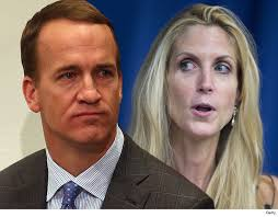 Peyton Manning Face Meme - peyton manning rips ann coulter to her face you look like a horse