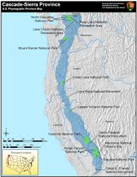 How Do The Eastern Lowlands Differ From The Interior Lowlands Cascade Sierra Mountains U S National Park Service