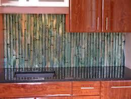 Round Bamboo Backsplash - Bamboo backsplash