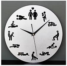 sexe dans la cuisine 24heures sexe horloge horloge horloge murale fantaisie