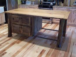 wooden legs for kitchen islands affordable square small kitchen