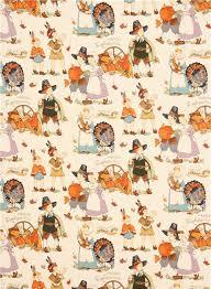 thanksgiving autumn fall fabric henry children
