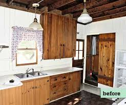 best way to paint pine kitchen cabinets 6 before and after kitchen cabinets this house