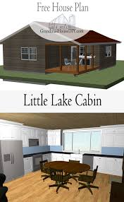 free house plan little lake cabin grandmas house diy