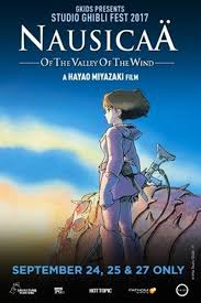 ghibli film express nausicaä of the valley of the wind studio ghibli fest 2017 east