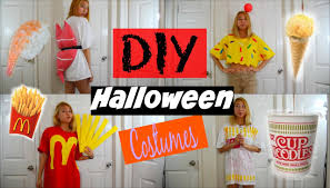 diy halloween costumes for teen food edition ice cream sushi