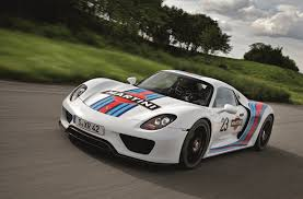 new porsche 918 spyder porsche 918 spyder gets legendary martini racing team brand livery