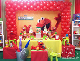 elmo birthday party elmo sesame birthday elmo 1st birthday party catch my