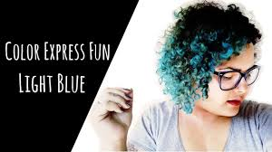 Light Blue Color by Tonalizando O Cabelo Light Blue Color Express Fun Salon Line