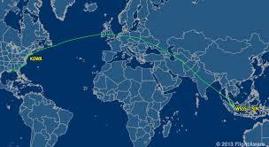 Singapore On Map Aboard The World U0027s Longest Flight Newark To Singapore On Sq