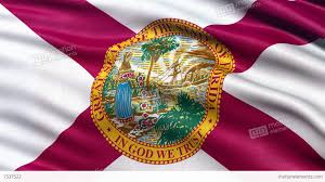 Flags Of Florida 4k Florida State Flag Seamless Loop Ultra Hd Stock Animation 7537522