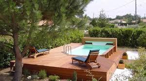 piscine hors sol bois conseils modèles à acheter côté maison