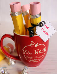gift mugs with candy back to school diy gift for teachers and kids personal creations