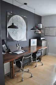Home Office Double Desk by 63 Best Home Office Images On Pinterest Study Office Spaces And