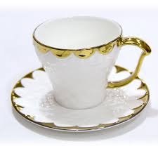 tea cup set majestic golden tea cup and saucer set giftsmate