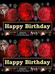 watch u0027happy birthday fireworks greeting card rock happy
