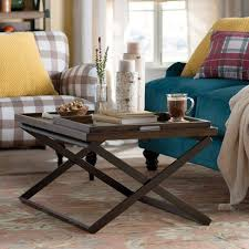 tray top end table laurel foundry modern farmhouse evansville coffee table reviews