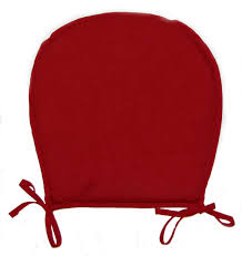 chair seat pads plain round kitchen garden furniture cushion pad