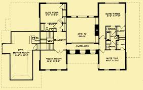 Colonial Open Floor Plans Colonial Manor House Plans For A Traditional 4 Bedroom Home