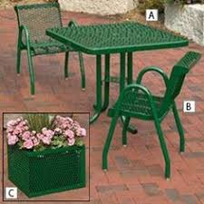 Steel Patio Furniture Sets by Tropitone Windsor Cushion Bar Patio Aluminum Dining Set By