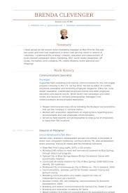 Contract Specialist Resume Sample by Communications Specialist Resume Samples Visualcv Resume Samples