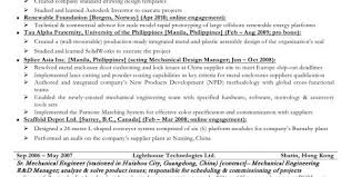 resume objective statement for entry level engineer salary entry level mechanical engineering resume sle and mechanical