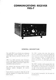 monitor internet radio modifications frg 7 instruction manual