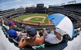 lexus dugout club menu texas rangers fans sweat it out in 104 degrees test tolerance for